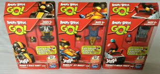 Hasbro Angry Birds Go Jenga Bubbles' Jet Buggy Game A6435 Ages 6 ...