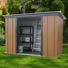 woodview pent metal sheds yardmaster