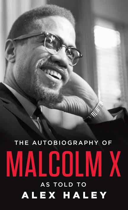 Image result for book cover the autobiography of malcolm x""
