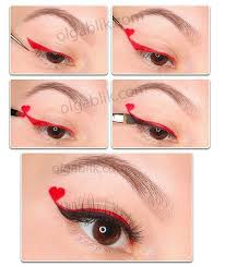 eye makeup for valentine s day pictures