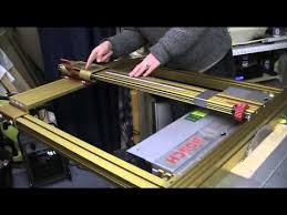 Part 14 Fitting The Incra Table Saw Fence To A Bosch Pts 10 Youtube