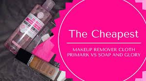 primark s makeup remover cloth vs soap