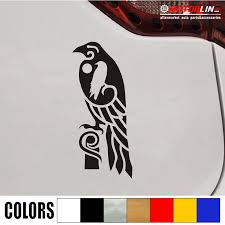 Viking Wolf Decal Sticker Runic Circle Norse Car Vinyl Pick Size Color No Bkgrd Telesto Gr