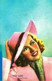 Card Format Small Actress Polly Ward - Non Viaggiata | eBay