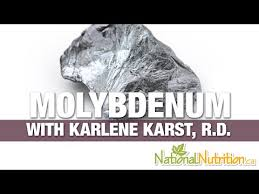 molybdenum national nutrition articles