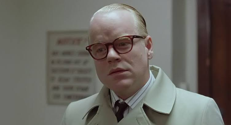 Image result for Philip Seymour Hoffman (Capote)