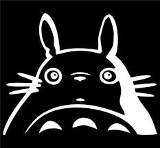 My Neighbor Totoro Studio Ghibli Vinyl Die Cut Decal Sticker Texas Die Cuts