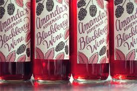 homemade blackberry wine wit whistle