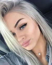 hair color for blue eyes and fair skin