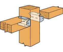 Fence Bracket Z Max For Conencting Rails With Posts 2 X 4 In 2x4 Wood Projects Fence Diy Deck