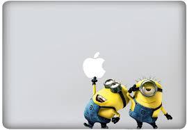 Macbook Decal Mac Book Stickers Macbook Decals Apple Decal For Macbook Pro Macbook Air Ipad Ipad2 New Ipad Iphone 4 Macbook Decal Mac Decals Minions