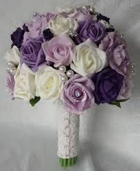 مسكة عروس بلون بنفسجي الموف بوكيه اكسبريس Bouquet Express