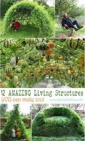 garden decorations structures to diy