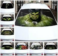 Transparent Car Back Rear Window Decal Vinyl Sticker Hulk Horror Fit Any Auto Ebay