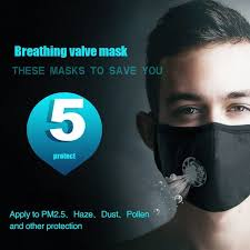 mnycxen dustproof reusable face masks