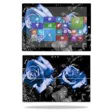 Skin For Microsoft Surface Pro 3 Blue Roses Mightyskins Protective Durable And Unique Vinyl Decal Wrap Cover Easy To Apply Remove And Change Styles Made In The Usa Walmart Com Walmart Com