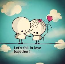 fall in love cute love es a
