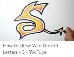 how to draw wild graffiti letters s