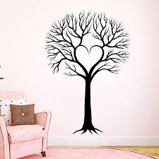 Wall Decal Tree Silhouette Decals Natural From Decalsfromdavid On