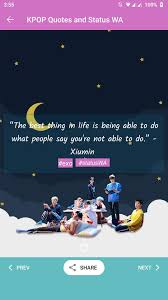 kpop quotes wa and hd for android apk