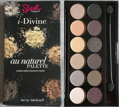sleek makeup palette au naturel
