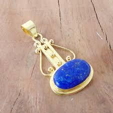 unique lapis lazuli gold vermeil