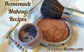 how to make natural makeup at home