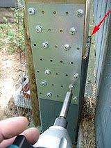 Extending A Privacy Fence With Wood Lattice Screen Panels Fence Post Lattice Fence Fence