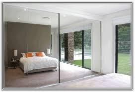 closet door mirror option for mirrored