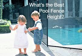 Pool Fence Height Pool Fence Pool Cool Pools