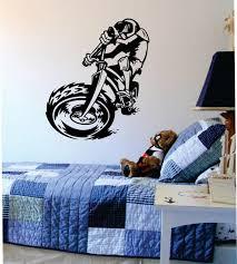 Bmx Biker Version 6 Design Sports Decal Sticker Wall Vinyl Boop Decals