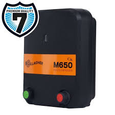 Gallagher M650 Mains Powered Electric Fence Energiser Charger 230v Electric Fence Online