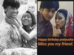 Balika Vadhu's Shashank Vyas aka Jagya misses late Pratyusha Banerjee on  her birth anniversary - Times of India