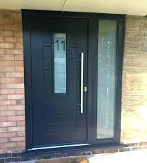 door with side panel entrance doors