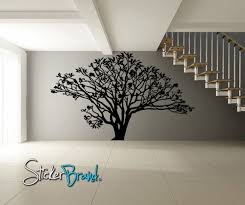 Vinyl Wall Decal Sticker Dogwood Tree Ac152a 72in Tall X 96in Etsy