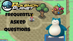 Pokemon Planet - Frequently Asked Questions (2019) - YouTube