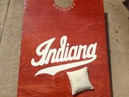 Iu Indiana University Cornhole Bag Toss Decal Set Over 25 Decals Personalized Ebay
