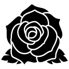 Stunning Rose Flower Sticker