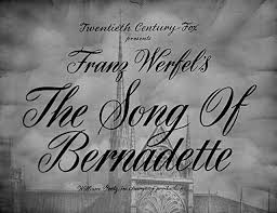 The Song of Bernadette (1943)   the Movie title stills collection ...