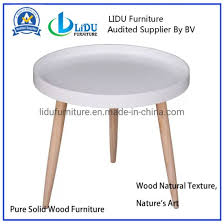 china white round tray coffee table