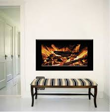 Fireplace Wallpaper Decal Fireplace Wall Sticker Living Room Wall Murals Fireplace Wall Stickers Primedecals