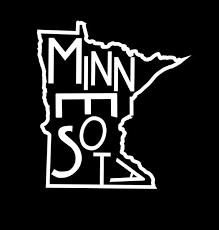 Minnesota Decal Minnesota Car Decal Minnesota Sticker Mn Etsy Minnesota Minnesota Tattoo State Outline