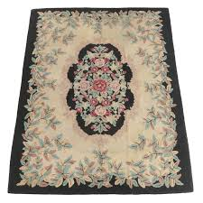 Priscilla Turner Rug Guild Hand-Hooked Wool Area Rug, Early 20th Century |  EBTH