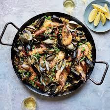 Seafood Paella Recipe - Kay Chun