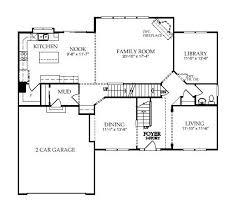 pulte 2004 1 story floor plans 3 car garage