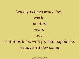 wish you have every day birthday quotes image