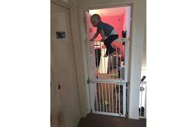 Baby Boy Climbs Over Two Stair Gates To Make Bid For Freedom At Bedtime Madeformums