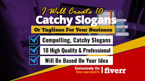 create 10 catchy slogans or lines