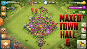 😱MAXED OUT TOWN HALL 6 BASE AND TROOPS ...