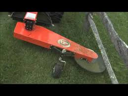 Dr 3 Point Hitch Trimmer Mower Youtube